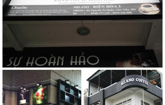 Cà phê MILANO tại Biên Hoà